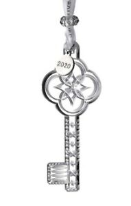 NEW Waterford Crystal 2020 OUR FIRST HOME - KEYS Ornament # 1055108 - NEW IN BOX