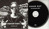 FEVER RAY An Exclusive Mix 2009 UK 8-track promo only CD