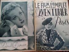 """LE FILM COMPLET 1936 N 1889 """" L' AVENTURIER DE PARIS """" avec  KARIN HARDT"""