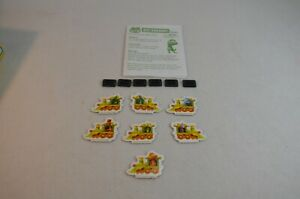 All Aboard Board Game Replacement Pieces & Movers 6 Mover Stands & Directions
