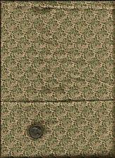 """""""Walnut Hill Farm"""" Print green on tan Fabric by Charlotte Lyons- Blend Fabrics"""