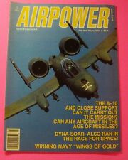 "AIRPOWER MAGAZINE JULY/1989..WINNING NAVY "" WINGS OF GOLD"".."