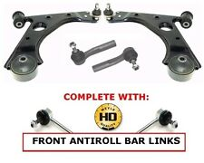 FOR VAUXHALL CORSA D FRONT LOWER WISHBONE ARMS TRACK ROD ENDS MEYLE HD LINKS 06-
