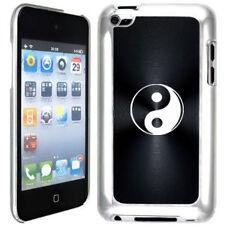 Black Apple iPod Touch 4th Generation Hard Case Cover B385 Yin Ying Yang