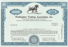 3 DIFF. WASHINGTON TROTTING ASSOC. INC.; 2-COMMON STOCK; 1 FUND SPECIMEN BN7053