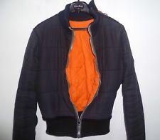 Rare. Blouson matelassé Jean-Paul Gaultier Jeans multi-fermetures éclair T38