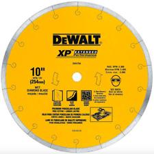 DEWALT 10 inch Wet Diamond Circular Saw Cutter Blade Tile Porcelain Tool Part