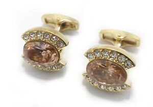 Glimmering Cufflinks Set for Men's Business Wedding Party with FREE Gift Pouch