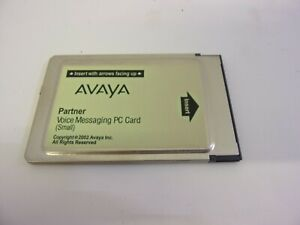 Avaya Partner Voice Messaging Mail Small PC Card ACS AT&T Lucent VoiceMail
