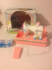 VINTAGE 1980 'LOVELY PONY' TOY SEWING MACHINE KITSCH KAWAII RETRO Mlp