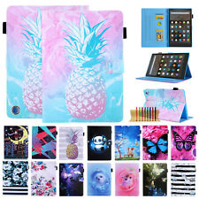 Pattern Leather Magnetic Case Cover For Amazon Kindle Fire HD 8/8 Plus 10th 2020