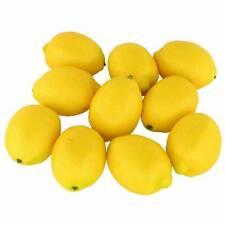 20x Limes Lemon Lifelike Artificial Plastic Fake Fruit Imitation Party Decor