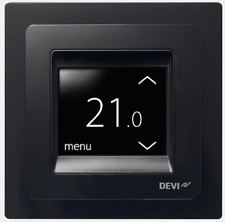 DEVIreg Touch programmable thermostat Black 140F1069