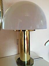 Glashütte Limburg Mushroom Table Lamp Mid Century Modern