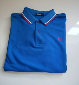 Vintage Fred Perry Blue size XL