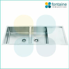 Kitchen Sink Square Undermount or Drop In Cube Modern Style NEW Double Bowl