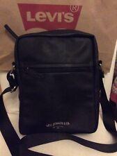 LEVI'S Cross Body Bag pour Femme Noire BNWT avec LEVI'S SHOP bag