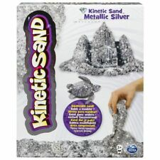 Kinetic Sand Metallic Silver Brand New Fast Postage