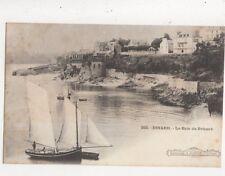 Dinard La Baie du Prieure France Vintage U/B Postcard 825a