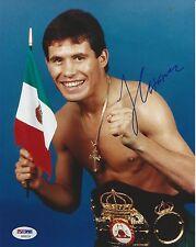 JULIO CESAR CHAVEZ Signed 8x10 PHOTO w/ PSA COA