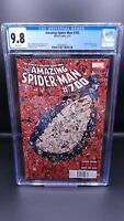 THE AMAZING SPIDER-MAN #700 CGC 9.8 NEWSSTAND HTF RARE - DEATH OF PETER PARKER