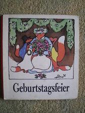 Geburtstagsfeier - DDR Bilderbuch mit den Füchsen - Erika Klein