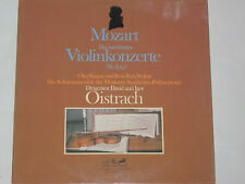 Mozart -Violinkonzerte Nr. 3,4,5- Kagan & Fain (Violine) / Oistrach 2xLP