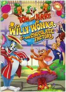 Tom and Jerry: Willy Wonka and the Chocolate Factory - Original Movie (DVD,...