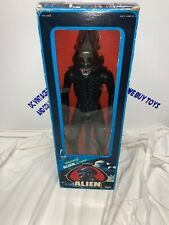 """VINTAGE KENNER 1979 ALIEN 18"""" FIGURE with DOME, BOX & POSTER—FACTORY SEALED—"""