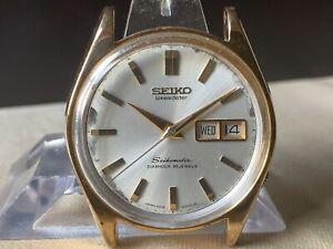 Vintage SEIKO Automatic Watch/ SEIKOMATIC WEEKDATER 6218-8950 35J SGP 1965