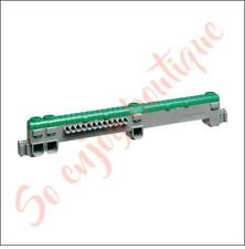 LEGRAND 004960 - Support bornier terre 15 connections (3 vis + 12 automatique)
