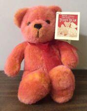 Vtg Avon 100th Anneversary Of The Teddy Bear 12� Talking Plush Teddy Bear W/ Tag