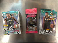 2020 Panini NBA Mosaic Blaster, Hanger, And Cello Pack Lot. New, Sealed.