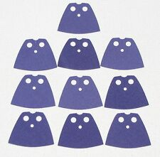 LEGO LOT OF 10 NEW PURPLE SHORT CAPES BART SIMPSON PARTS GIRL FEMALE BOY TOWN