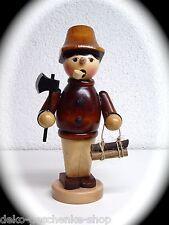 Fumador Figura Humeante Fumador 16cm colores Trabajador FORESTAL Natural 40327
