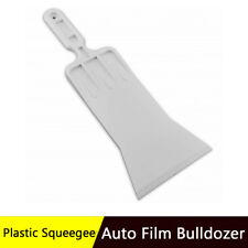 Vinyl Window Cleaning Squeegee Film Bulldozer For Car Windshield Handle Scraper