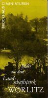 Bilder aus dem Landschaftspark Wörlitz, Brockhaus Miniaturen, 1. Auflage 1981