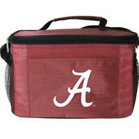 Alabama Roll Tide Licensed NCAA Kolder 6 Can Pack Insulated Cooler Lunch Bag