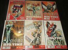 Alpha Big Time U-PICK ONE #0.1,1,2,3,4 or 5 Marvel (2013) PRICED PER COMIC