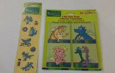Dragon Tales 4 Mini Sticker Books & Stickers DesignWare Sandylion NOS 2001