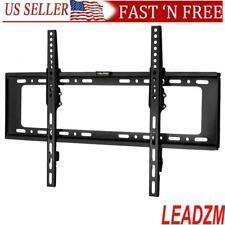 """LED LCD Plasma Flat Tilt TV Stand Wall Bracket Mount For 32""""-70'' W/Spirit Level"""