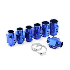 40 Mm Blue Water Temp Temperature Joint Pipe Sensor Gauge Radiator Hose Adapter