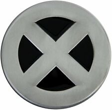 Silver/Black X-Men Wolverine Cyclops Storm Jean Novelty Metal Belt Buckle