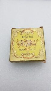 Vintage Roger & Gallet Savon ROSE THE 1 Miniature Soaps
