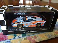 Minichamps Porsche 911 GT1-97, Daytona 24hrs 2002. In 1/43 scale Diecast