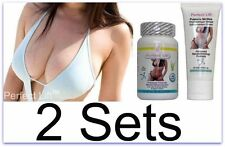 2x Perfect Lift Breast Enlargement Pills & Cream Nano Actives Success Woman C D