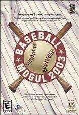 Baseball Mogul 2003 (PC, 2002)
