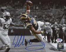 Todd Gurley Rams Autographed SignedPhoto 8x10 PSA COAPhoto #1