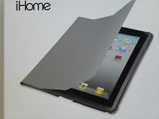 iHome Smart Book Case for iPad 2 & new iPad Grey IH-IP1103G New In Open Box