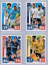 Match Attax Champions League 2017-18 Lot of 4 DUOS: Sane/Sterling + 3 more